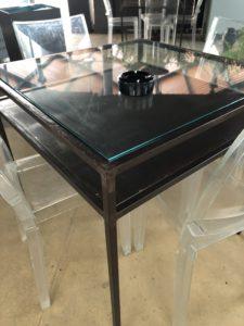 Corso Carpentiere Sicilia costruzione tavolo in ferro