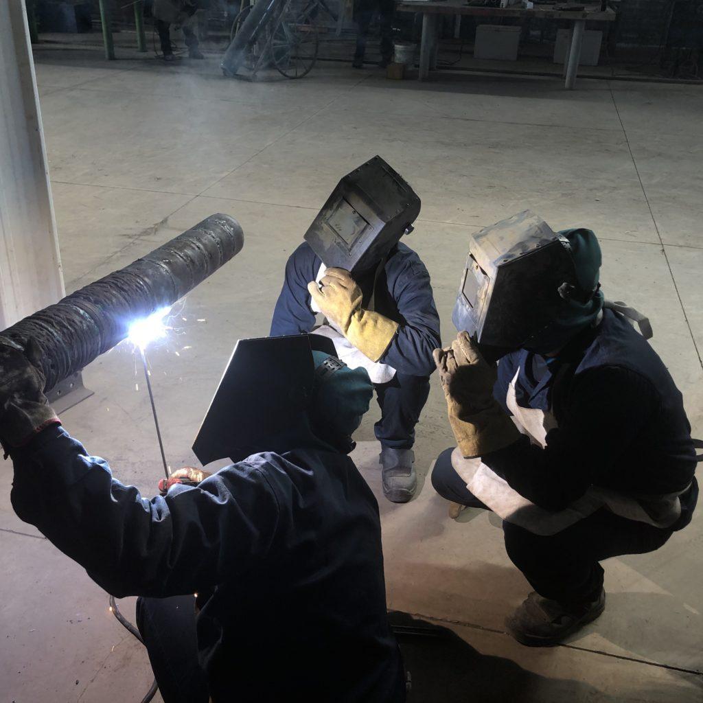 Electrode welding course